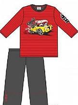 Детская пижама для мальчика CORNETTE Польша HOT WHEELS красно-черная