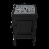 Печь отопительная КВД-100 с чугунной варочной поверхностью, фото 2