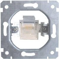 Механизм e.mz.16112.rj.45 розетки одинарной компьютерной под  Jack RJ45