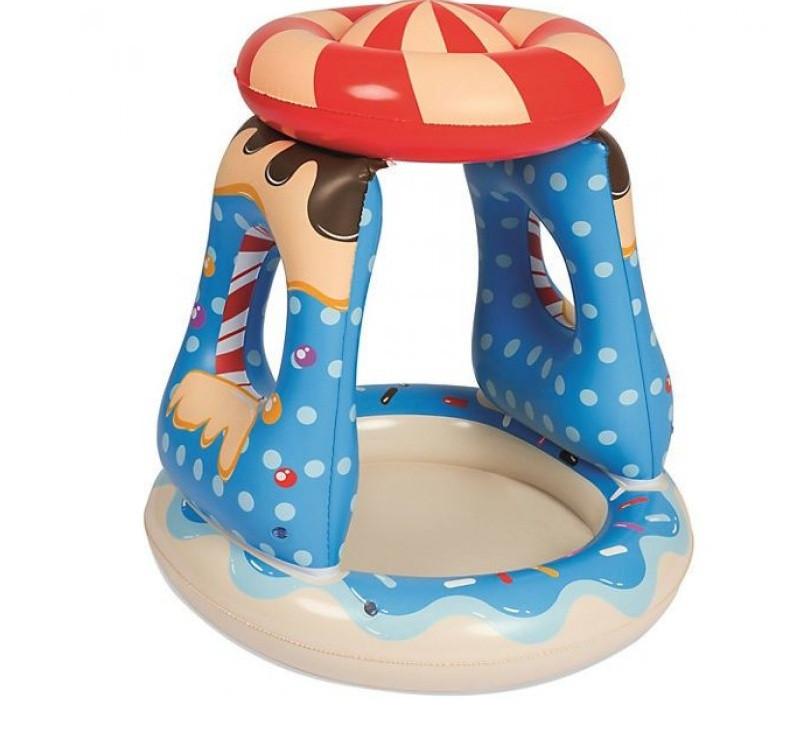 Детский надувной бассейн Bestway  «Конфетка», с навесом