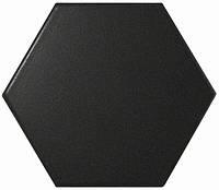 Плитка 10,1*11,6 Scale Black 23114