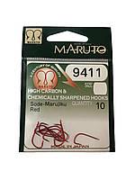 Крючок Maruto 9411 8 Red 10шт