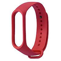 Ремешок Colored Strap для Xiaomi Mi Band 3 / 4 Красный