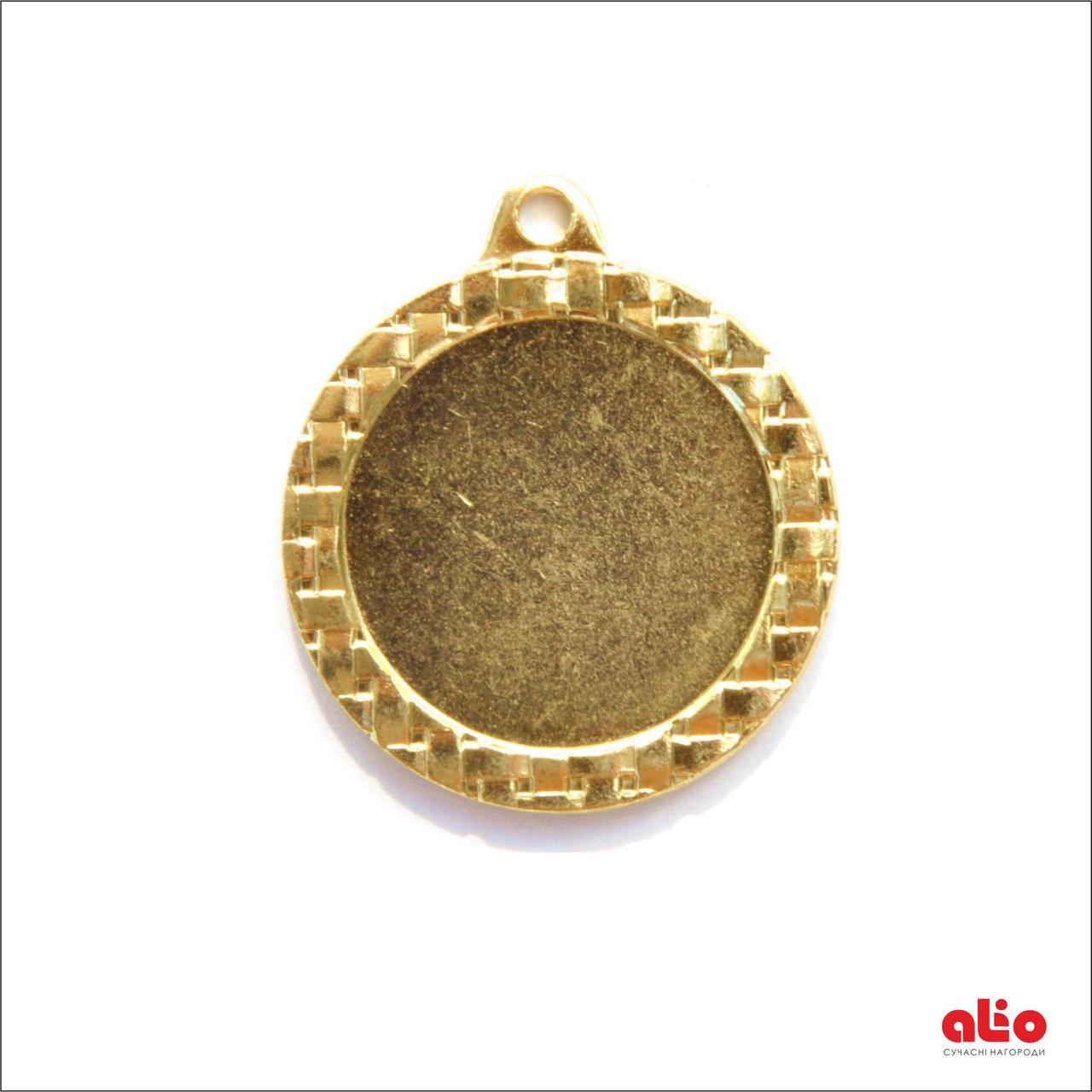 Медаль Д621 (золото) 32 мм