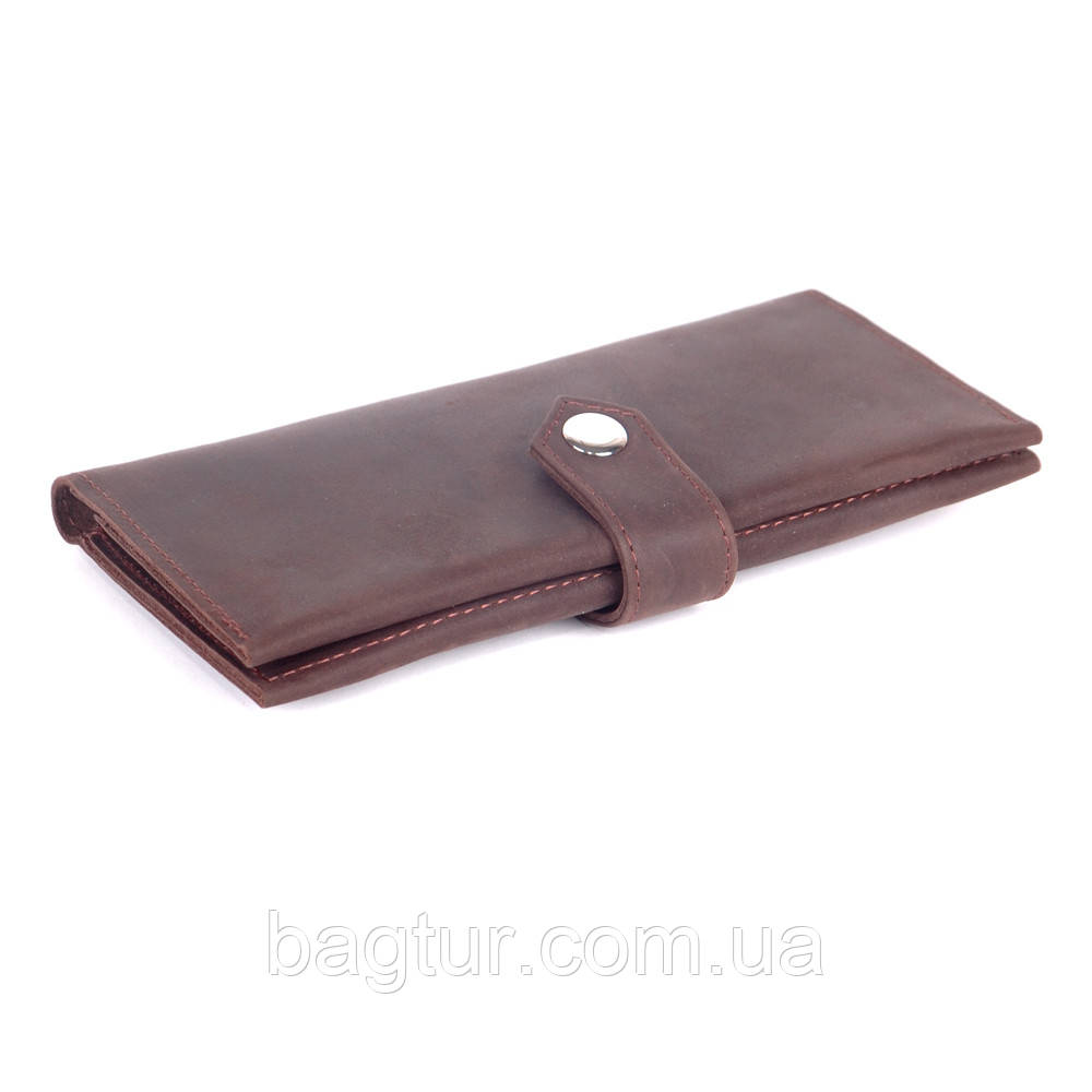 Органайзер кожаный 01 коричневый крейзі 07010406