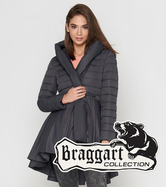 Braggart Youth | Куртка женская весенне-осенняя 25755 серая