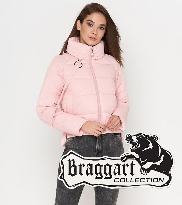 Braggart Youth | Осенняя женская куртка 25222 пудра