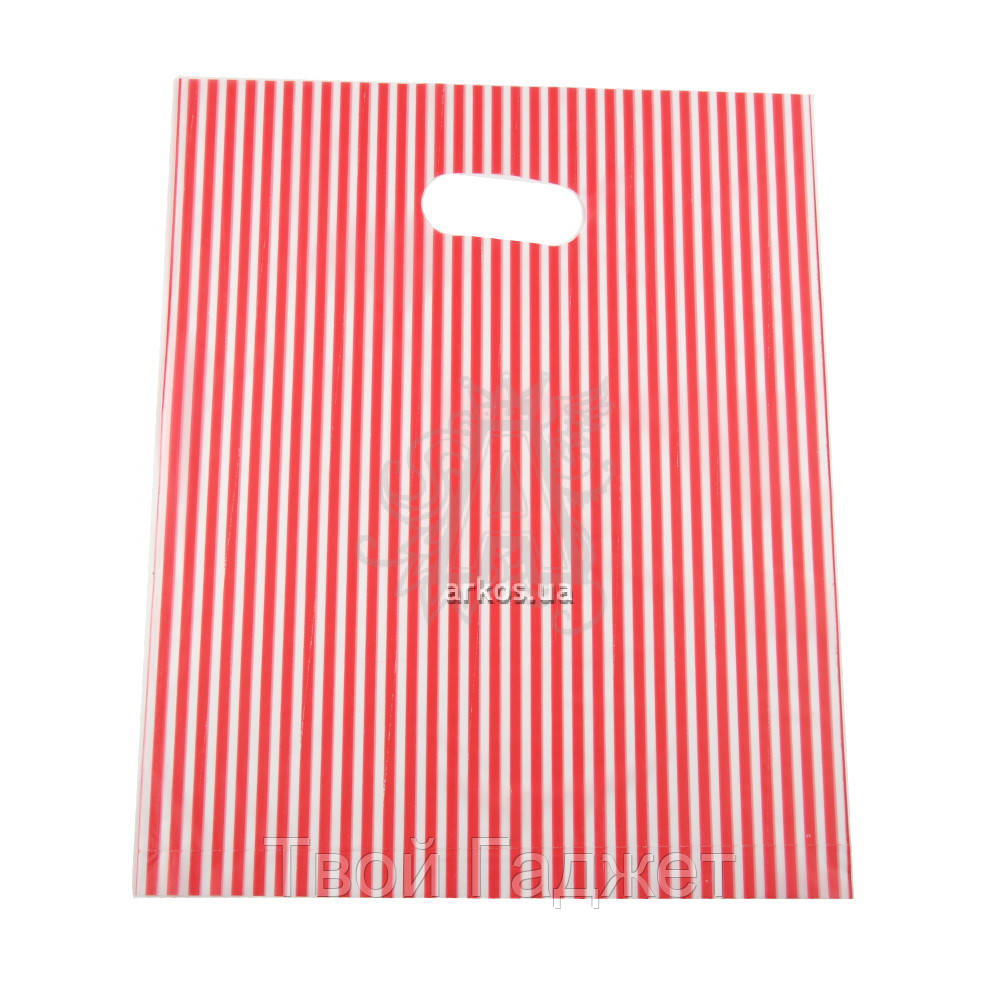 Пакет подарочный полиэтиленовый 20x25 , 100шт в упаковке