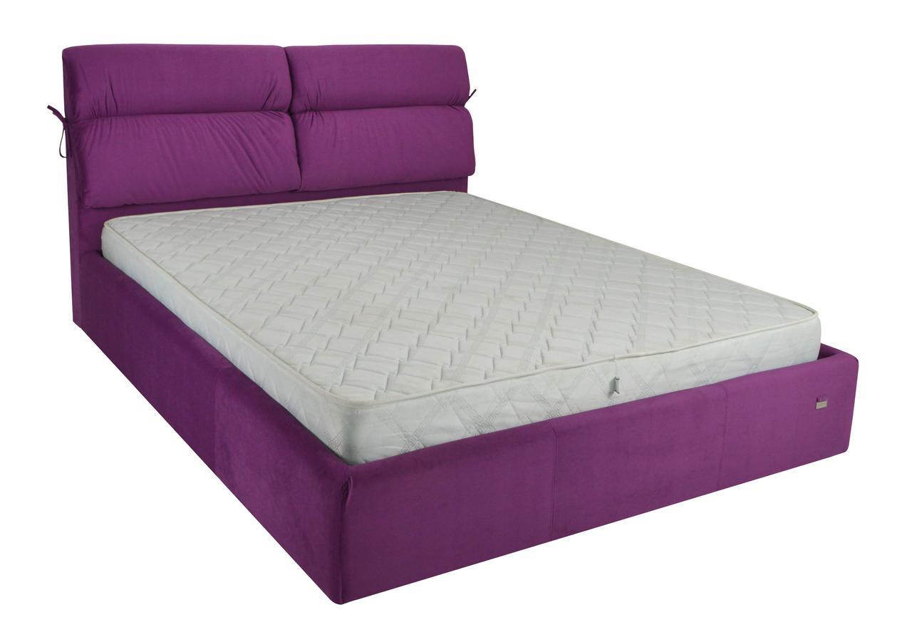 """Ліжко Едінбург (комплектація """"Комфорт"""") з підйом.хутро."""