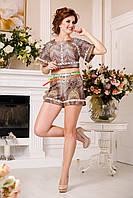 Костюм женский шорты и топ в 6ти цветах К - 900