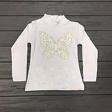 Детская одежда оптом Гольф для девочек нарядный оптом р.5-6-7 лет