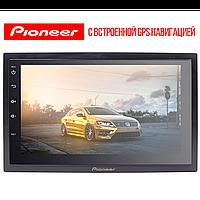 ☟Двухдиновая автомагнитола 7'' Pioneer 7003А память 1/16GB GPS навигация Wi Fi Андроид 8.1 для авто Фабрика