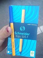 Ручка шариковая TOPS 505F синяя 50шт Schneider