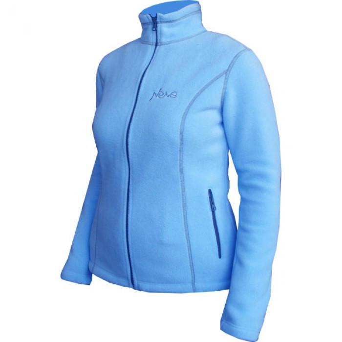 Женская спортивная флисовая кофта Neve PUMA голубая