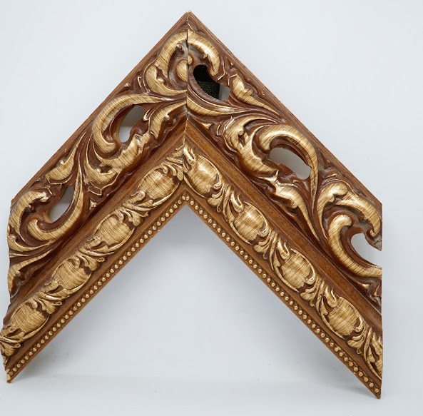 Багет дерев'яний wood бронзове дерево