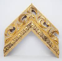 Багет дерев'яний gold золото