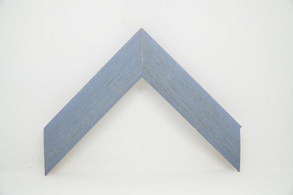 Багет дерев'яний голубий