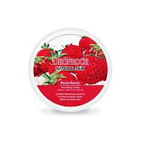 Deoproce Питательный крем для лица и тела с содержанием экстракта клубники Natural Skin Strawberry Mourishing