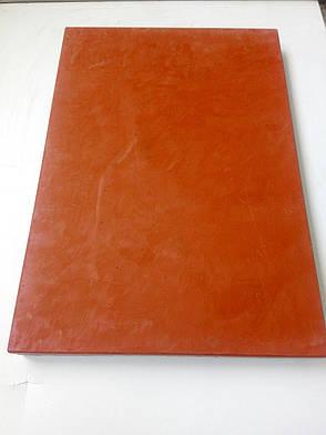 Профессиональная разделочная доска Красная 45*30*2 б/у, фото 2