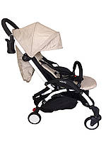 Самая удобная и легкая детская прогулочная коляска YOYA PREMIUM, w/Beige
