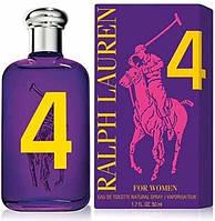 Женская туалетная вода Ralph Lauren The Big Pony Collection 4 For Women - 100 мл (фиолетовые)