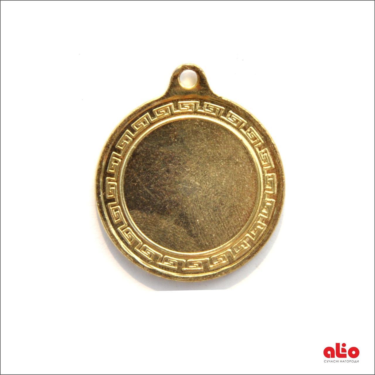 Медаль Д35 (золото) 35 мм