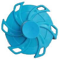 Игрушка антистресс спиннер обычный Springing Top голубой