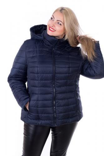 Демисезонная куртка больших размеров К 0061 с 01