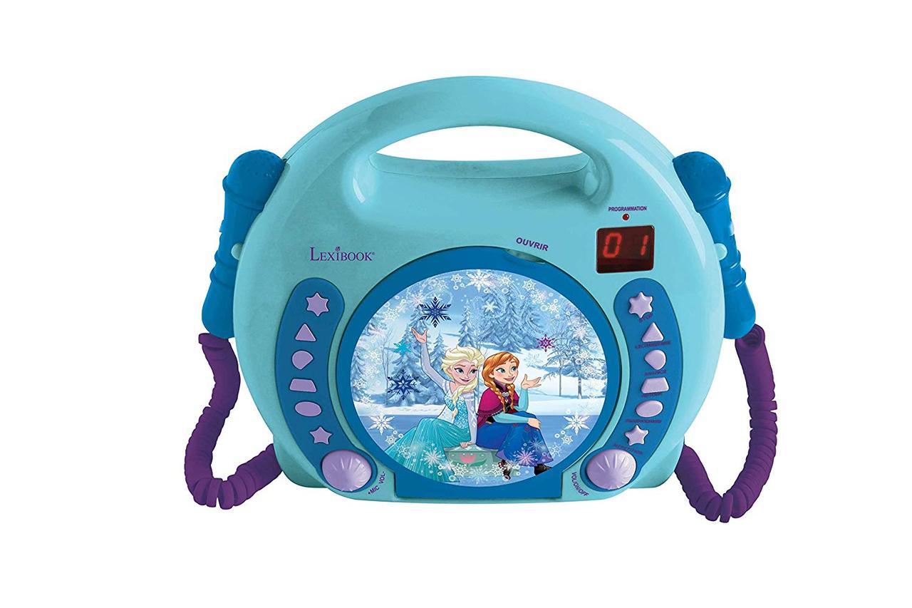 Lexibook Disney Frozen Kid CD програвач з 2-ома мікрафонами