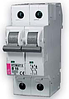 Автоматический выключатель ETIMAT 6  2p С 10А (6 kA)