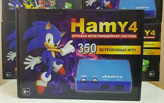 Игровая приставка HAMY4 черная Sega Mega Drive 2 + Dendy