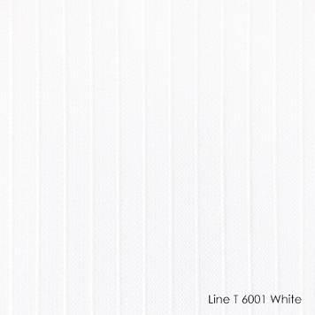 Вертикальные жалюзи Line t-6001 white