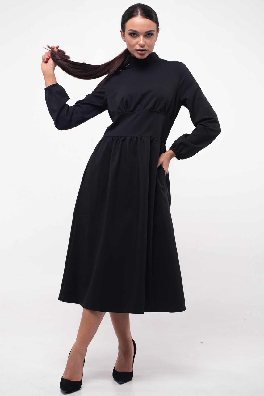 Красивое офисное платье с 42 по 52 размер