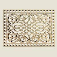 Прямоугольное донышко для вязанных корзин Shasheltoys (100312.125) 125х175 мм