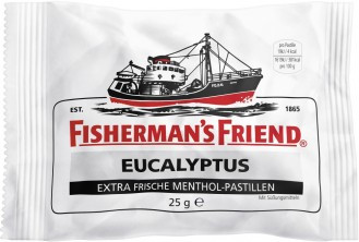 Леденцы Fishermans Friend Eucalyptus