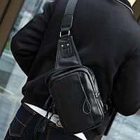 Мужской рюкзак на одно плечо. Два цвета, фото 1