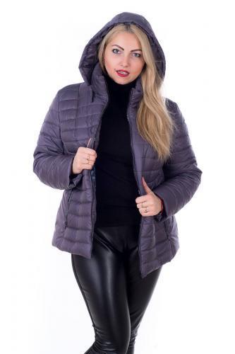 Демисезонная куртка больших размеров К 0061 с 03