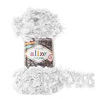 Alize Puffy Fur № 6100 белый