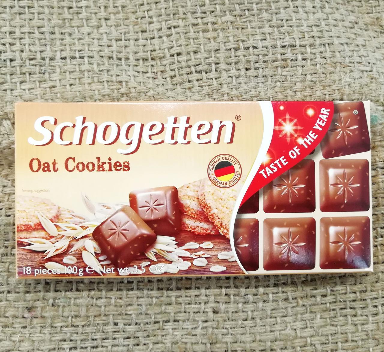 Шоколад Schogetten Oat Cookies 100 gramm