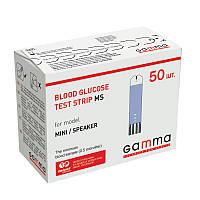 Уценка Тест-полоски Gamma MS №50 (Гамма МС 50шт) срок годности до 11.2019