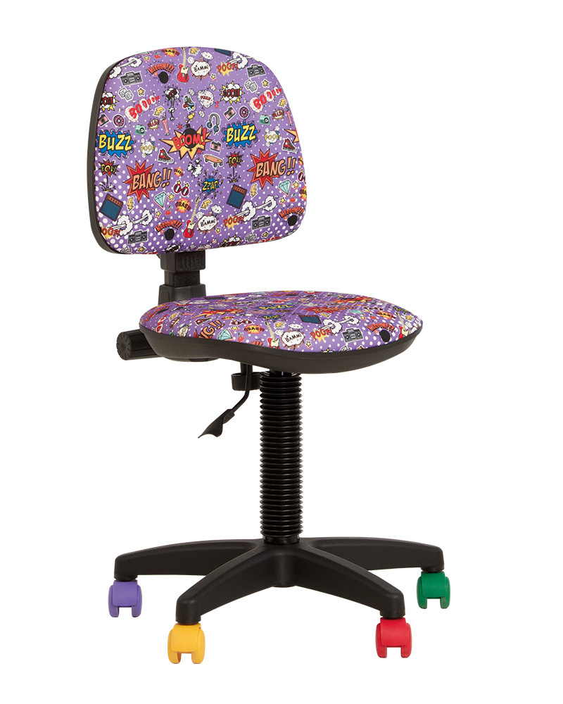 Кресло детское Swift GTS механизм CPT крестовина PL55, ткань Сomics-01 (Новый Стиль ТМ)
