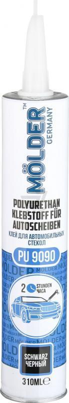 Клей для автомобильного стекла черный (310мл) MOLDER