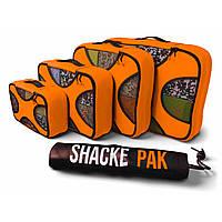 Комплект дорожных органайзеров для путешествий Shacke Pak 5 шт Оранжевый (OT116), фото 1