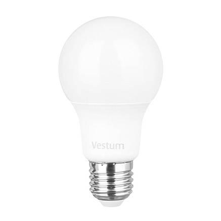 Лампа LED Vestum A60 10W 4100K 220V E27, фото 2