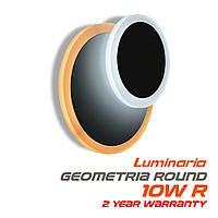 Настенный светодиодный светильник, бра LUMINARIA GEOMETRIA ROUND 10W R-185 -WHITE 220-IP20 (круг)
