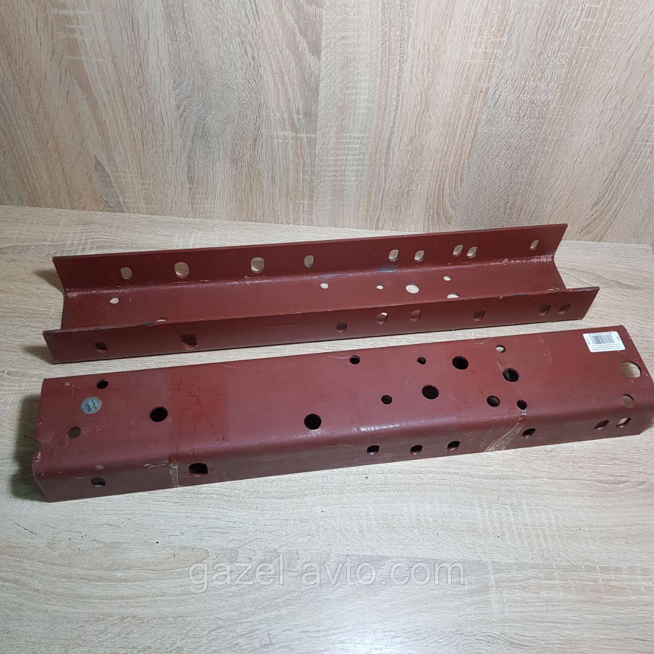 Усилитель рамы Соболь передняя часть (ремвставка из рес. стали ,толщ=4,5мм) (2 наимен.) (пр-во Россия)