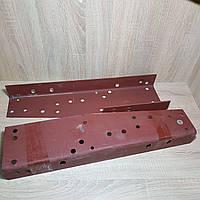 Усилитель рамы Газель,Соболь средняя часть (ремвставка из рес. стали толщ=4,5 мм) (2 наимен.) (пр-во Россия)