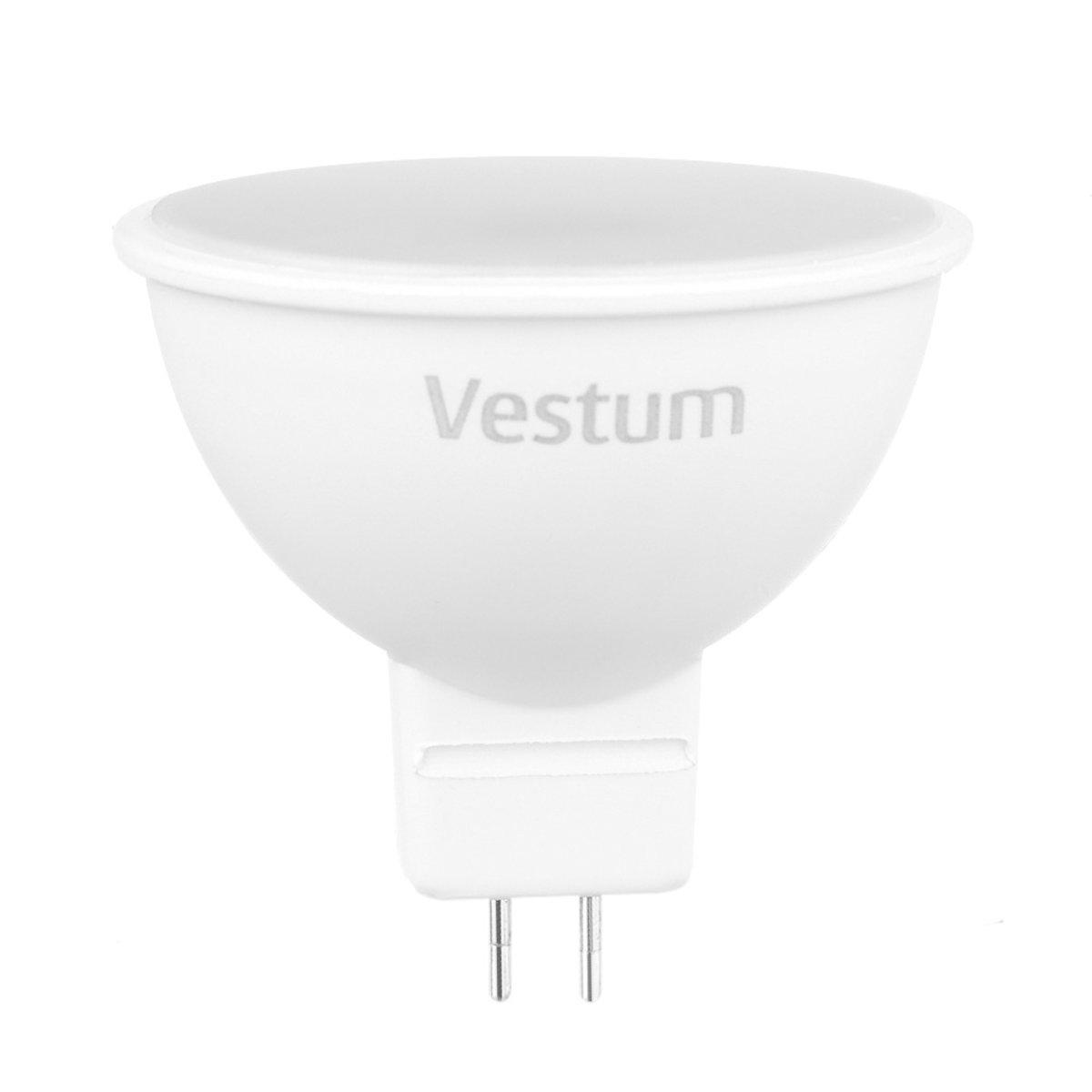 Лампа LED Vestum MR16 3W 3000K 220V GU5.3