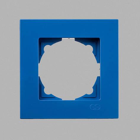Eqona рамка 1-ая голубая, фото 2