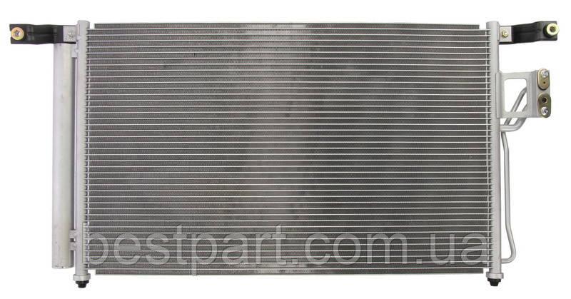 Радиатор кондиционера (осушитель) HYUNDAI SANTA FÉ II 2.2D/2.7 03.06-12.12